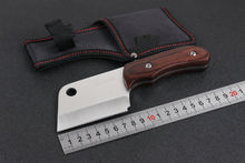 Best Gift K-87 Camping Outdoor Knife 440 Blade Color Wood Hunting Fixed Knives Survival EDC Tools Utility Multi Knife