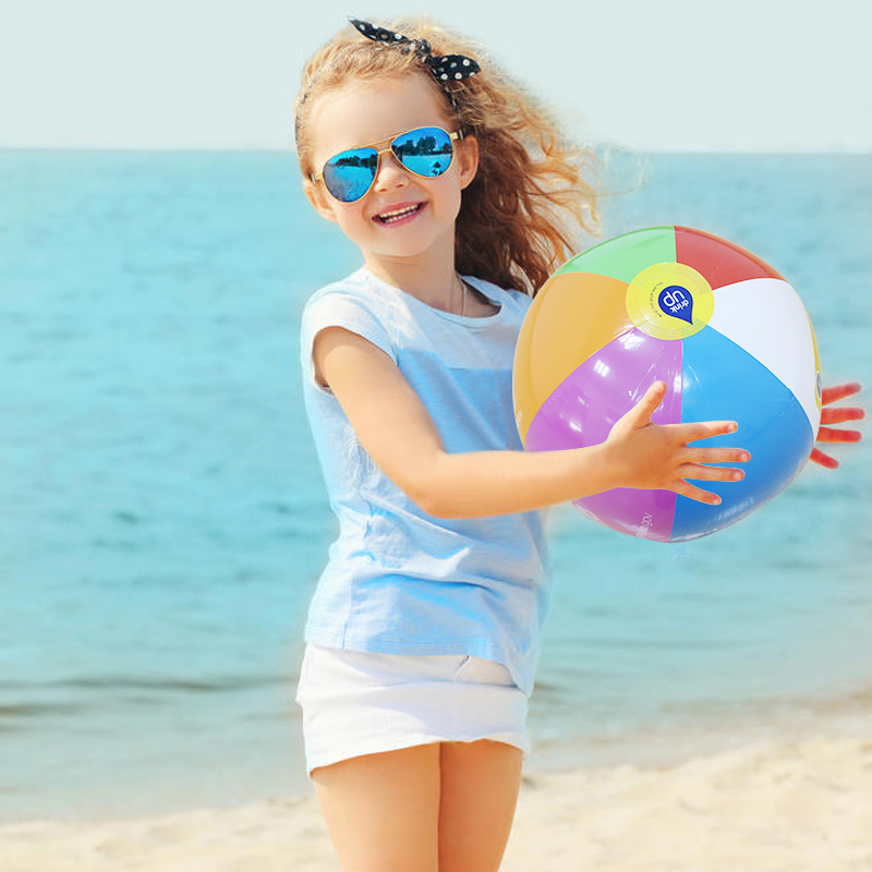 10 Pieces/set 30cm Mini Multi Inflatable PVC Ocean Ball Colorful Water Balloons For Children Adult Beach/Pool Balls Baby Toys
