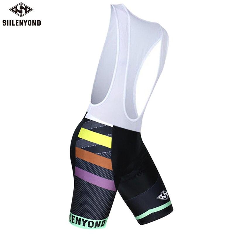 Siilenyond, мужская спортивная одежда, велосипедные шорты, мягкие, дышащие, для верховой езды, mtb, велосипедные шорты с нагрудником, анти-пот, шорты для велосипедистов mtb - Color: color 11