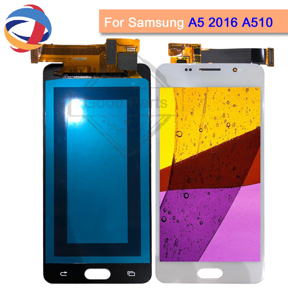 A510 lcd 5.2For SAMSUNG Galaxy A5 2016 A510 A510M SM-A510F LCD Display Touch Screen Digitizer+Frame For Samsung A5 2016 LCDA510 lcd 5.2For SAMSUNG Galaxy A5 2016 A510 A510M SM-A510F LCD Display Touch Screen Digitizer+Frame For Samsung A5 2016 LCD