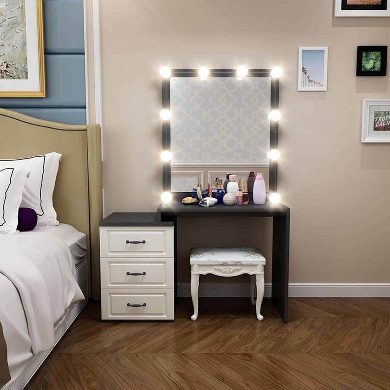 20w Makeup Mirror Led Lights 10 Hollywood Vanity Light Bulbs For
