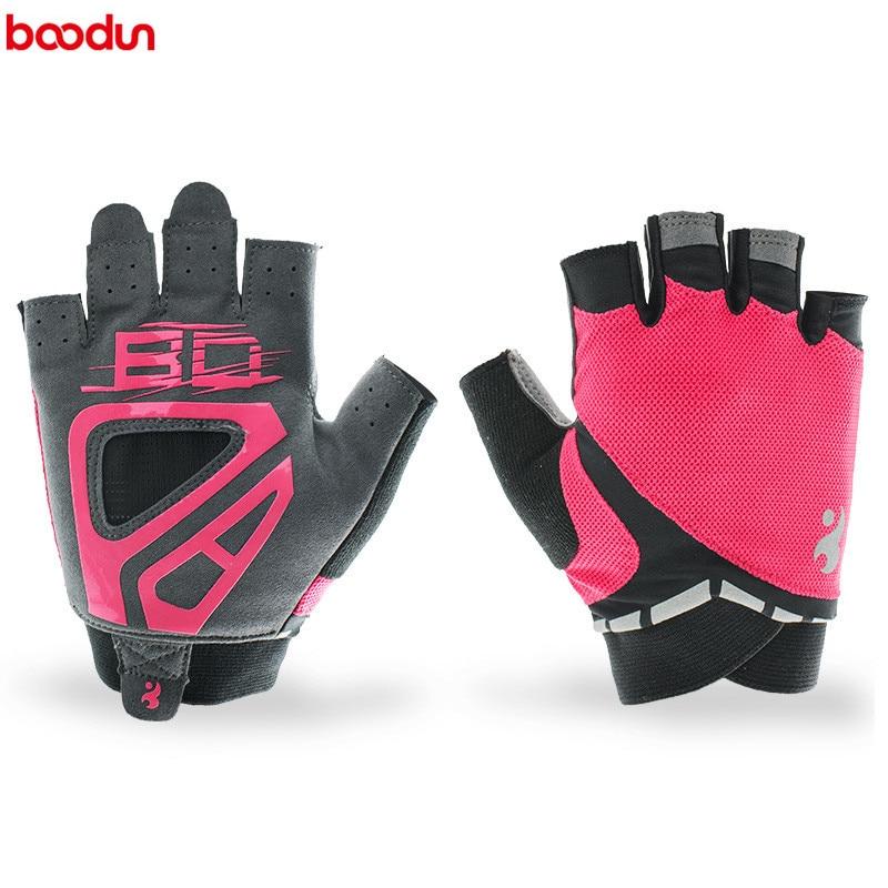 Mesh Weight Lifting Gloves: Women Fitness Weight Lifting Gloves Half Finger Gym Glove