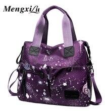 MENGXILU Brand Women Crossbody Shoulder Bag Large Capacity Messenger Waterproof Oxford Ladies Handbag Multi Pocket