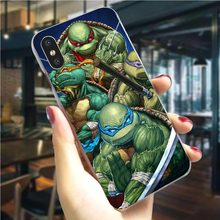 Teenage Mutant Ninja Turtles Phone Case For iPhone XS Cover 5 5S SE 6 6S/6 6S Plus 7 8/7 8 Plus X XR Xs Max Hard Shell Fashion(China)