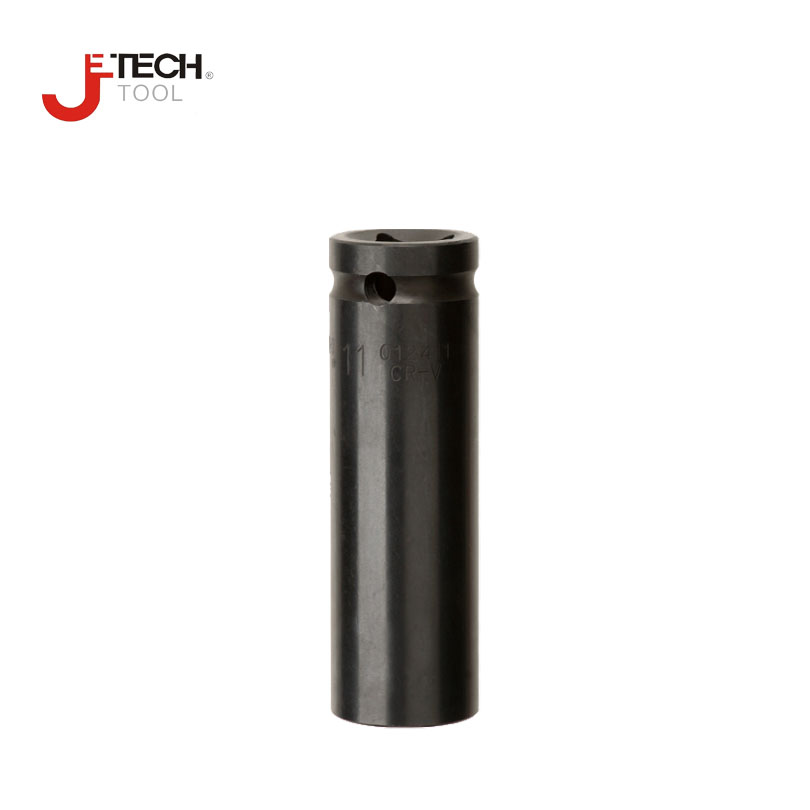 Cr-V Metric uxcell 1//2-Inch Drive by 19mm Deep Impact Socket 6-Point
