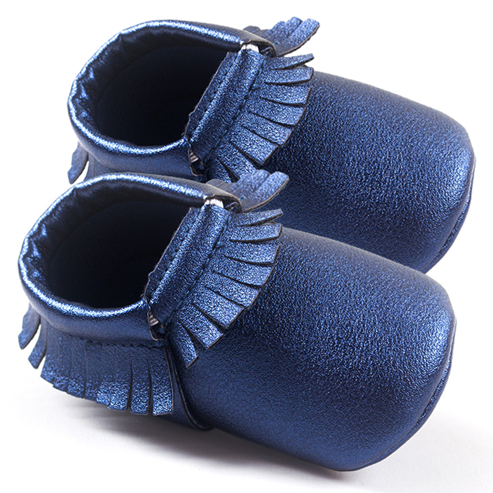 Baby-Moccasins-Shoes-Sneakers-Newborn-Boys-Girls-First-Walker-Infants-Kids-Soft-Crib-Tassels-Leather-New-Jeans-Blue-w-12-Style-2