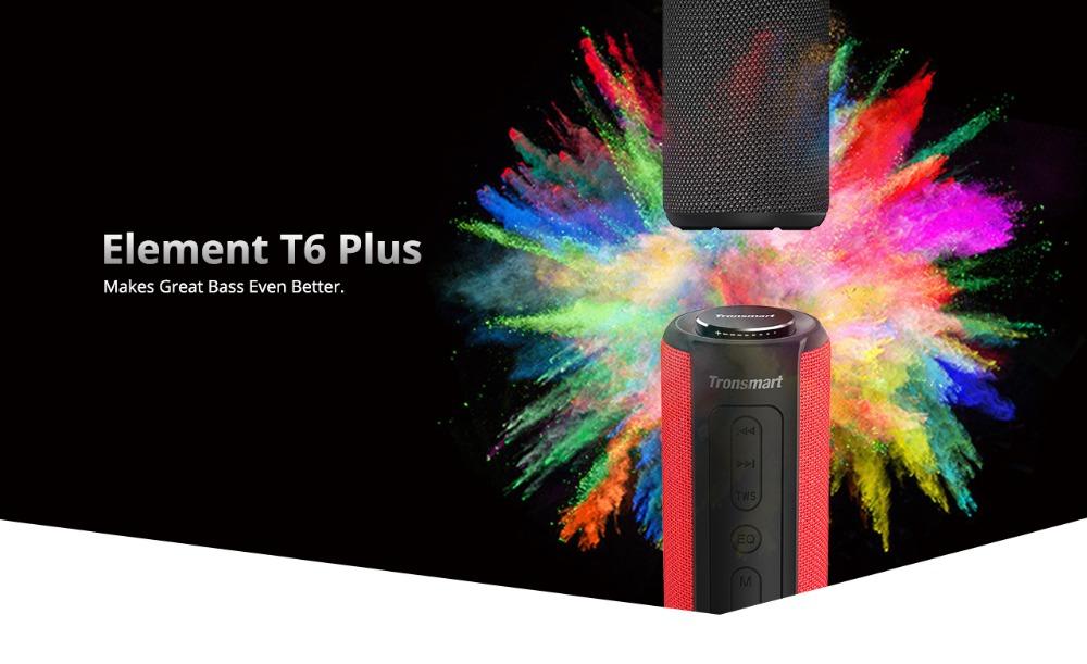 Tronsmart T6 Plus Altavoz Bluetooth portátil 40W 1