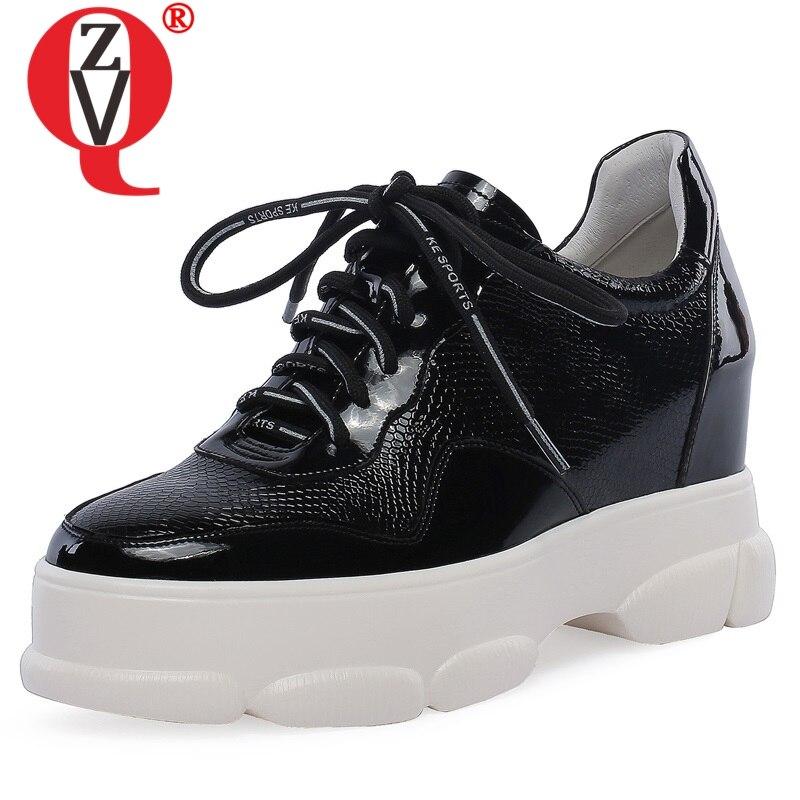 Ayakk.'ten Kadın Pompaları'de BAĞLANTı KÖPRÜSÜ ayakkabı kadın 2019 bahar yeni özlü rahat yüksek hakiki deri kadın pompaları dış artı boyutu siyah beyaz platform ayakkabılar'da  Grup 1