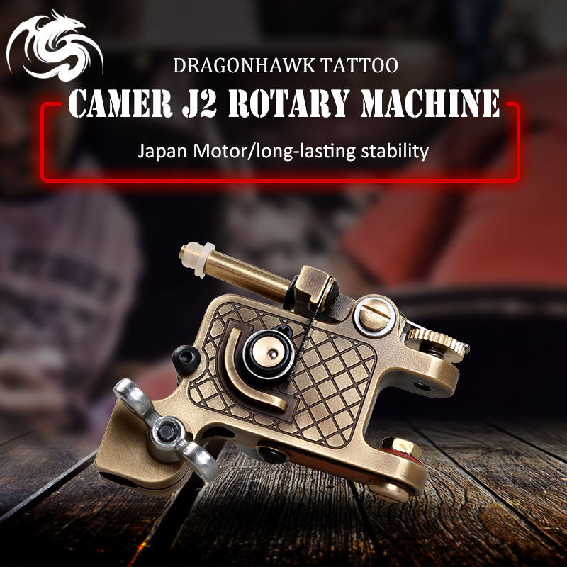 Dragonhawk Tatuaggio Macchina Rotativa Special Edtion per Gli Artisti Del Tatuaggio Make Up Guns Shader Liner Assortiti Tatoo Motor Fornitore