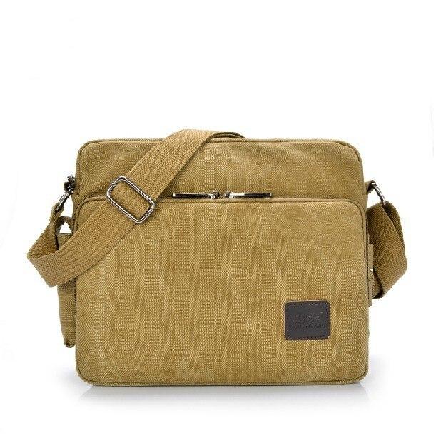 Sacs pour hommes à la mode multi-fonctionnelle loisirs toile sac un homme sac de voyage marchandises de qualité affaires paquet sac à bandoulière