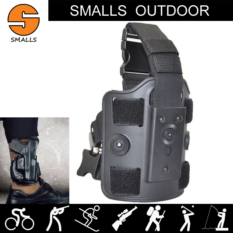 ar15 accessories Tactical Pistol Holster Airsoft Right Leg px4 ankle pouch for hunting B ...