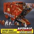 Sandcrawler Lepin 05038 Star Wars Building Blocks Establece Ladrillos de Juguete para Construir Juguetes compatibles