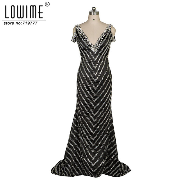 Abendkleider Crystal Evening Gowns Great Gatsby Formal Party Dress ...