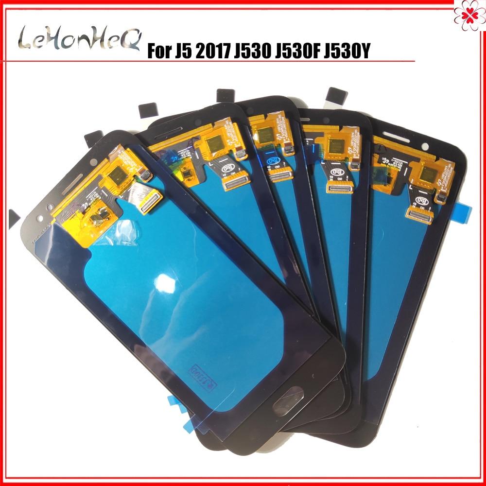 5 pièces/lot LCD pour samsung Galaxy J5 Pro 2017 J530 J530F LCD écran tactile numériseur assemblée pour samsung J530 4.97
