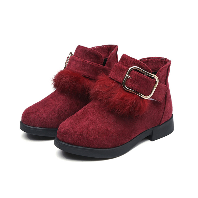JGSHOWKITO Fashion Flock Big Girls Winter Boots Warm Cotton Classical Kids Martin Boots Childrens Rubber Ankle Boots Fluffy FurJGSHOWKITO Fashion Flock Big Girls Winter Boots Warm Cotton Classical Kids Martin Boots Childrens Rubber Ankle Boots Fluffy Fur