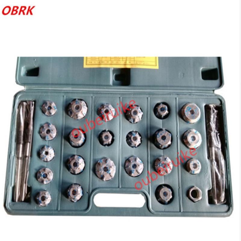 27pc пейнтбола 29-43мм высокое качество ручной Клапан инструмент ремонта клапана карбида Ример место для одноцилиндрового дизеля