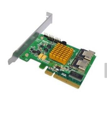 HighPoint Rocket RAID 2720SGL(SAS6Gbps RAID CARD)/ PCI-E Gen2.0 x8/SASx8/SATA Channel/RAID 0,1,5,10,50,JBOD,Single-disk 375 3536 sas raid with battery array card pci e sas card 100% test good quality