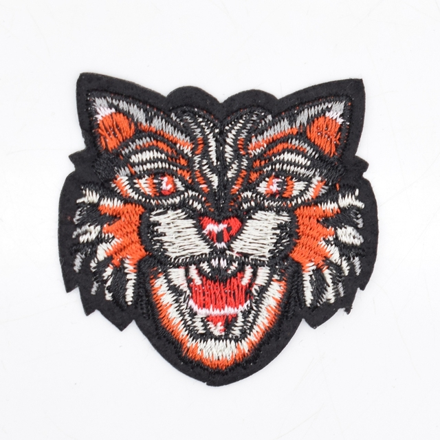 2Pcs Colorful Tiger Head Patches Iron Embroidery Patch Motif Applique Children Women DIY Clothes Sticker Wedding  sc 1 st  AliExpress.com : tiger head costume  - Germanpascual.Com