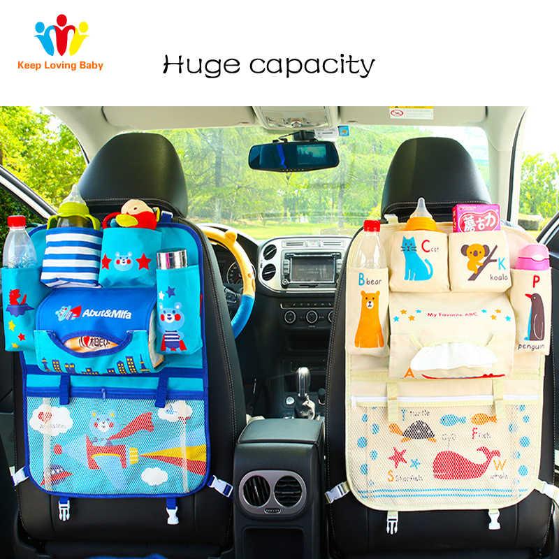 Saco de armazenamento do assento de carro do bebê do assento de carro do assento de carro