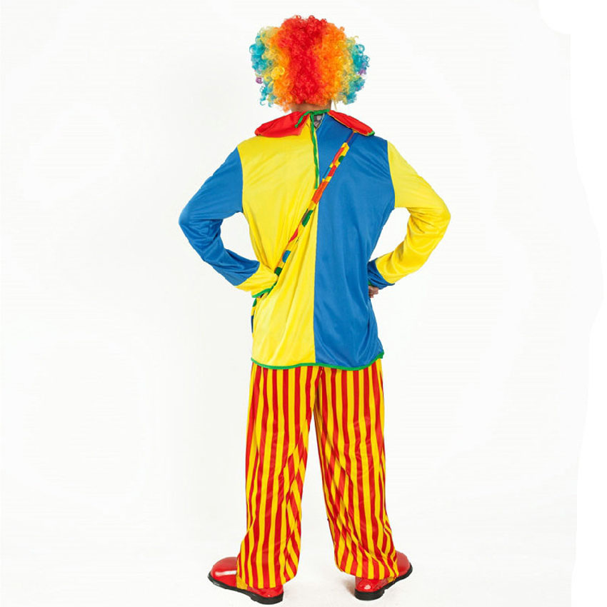 Halloween Costumes Adult Funny Circus Clown Costume Naughty Harlequin Cosplay
