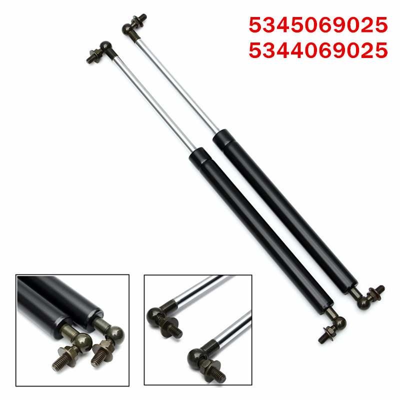 2pcs Bonnet Gas Strut Shock Struts Lift Supports for Toyota Landcruiser 100 Series for Lexus LX470 1998-2007