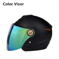 DOT Approved Low Profile, Lightweight, Extra Thin Shell With A Quick Release. It's Not Hot color