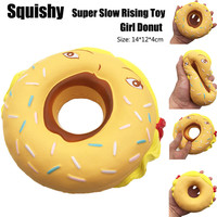 Mini Squishy Girl Donut Super Slow Rising Kid Toy With Decompression Educational Anti Stress Toys P5