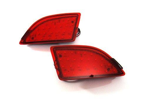 CYAN SOIL BAY For Mazda 3 Mazda3 Axela BM 5D 2013+ Red Lens Bumper Reflector LED Tail Stop Light комплект дефлекторов vinguru накладные скотч для mazda 3 iii bm 2013 cедан хэтчбек 4 шт
