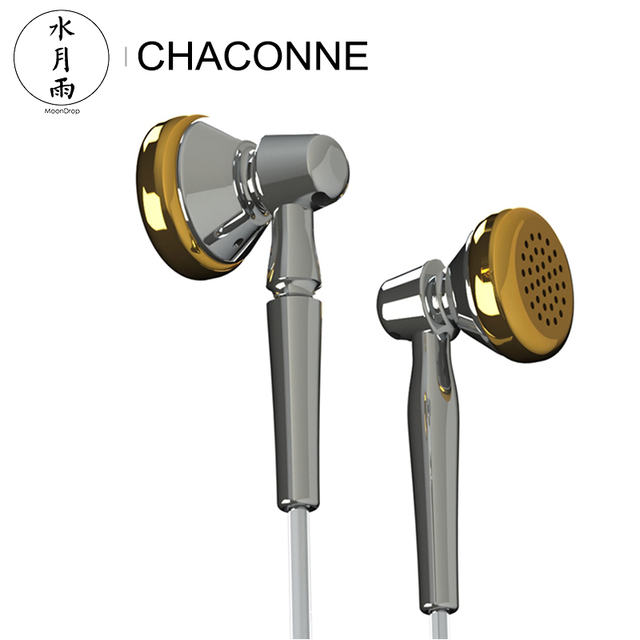 Moondrop CHACONNE HiFi Audio LCP Diaphragm Dynamic Flat-head Earphone Titanium Shell Internal Cavity Anti-standing Wave Design 2