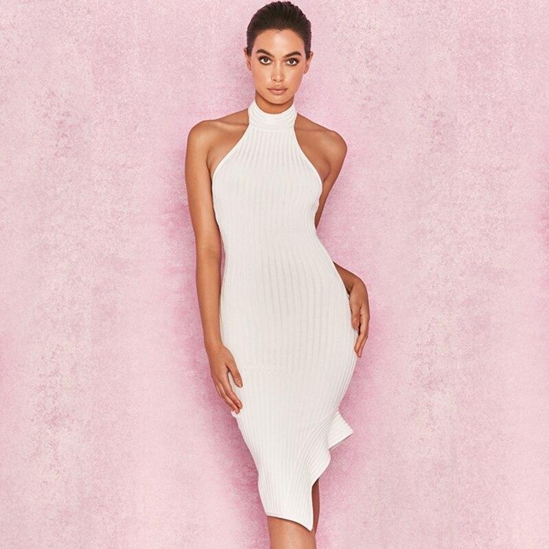 Summer Chic Women Fashion Newest 2018 White Elegant