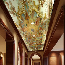 "Custom 3D Photo Mural Wallpaper European Style ""Angel Myths"""