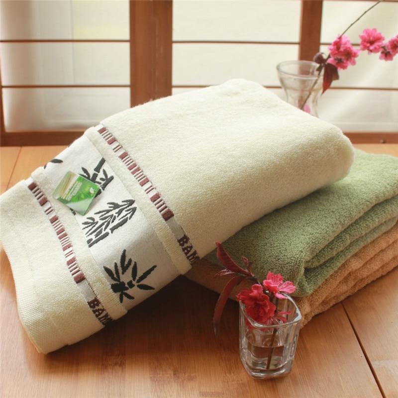 Novi 70x140cm bijeli ručnici od pamučnog ručnika za kupanje mekani - Tekstil za kućanstvo - Foto 1