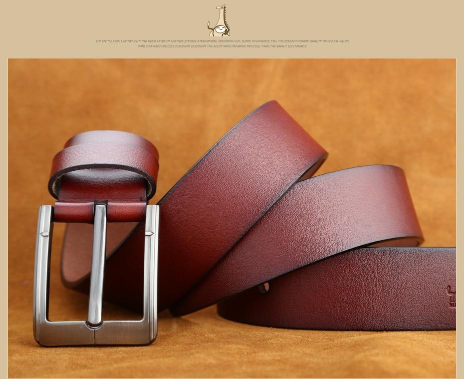 [Miluota] pasy designer mężczyźni wysokiej jakości prawdziwy skórzany pas dla mężczyzn luksusowe ceinture homme military style 130 cm mu012 19
