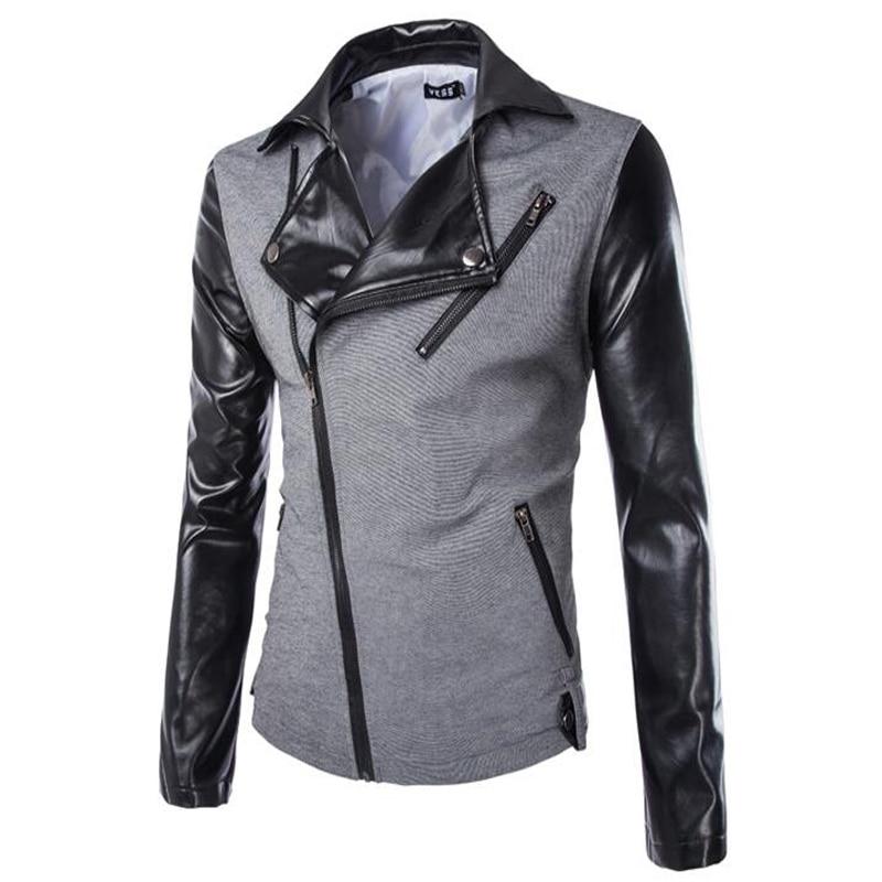 772d953307655 Hot Sale New Spring Thin Fashion Jacket Men Solid Bomber Jacket Slim ...