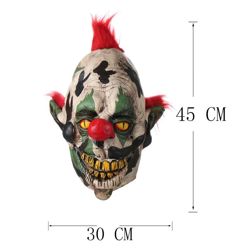 H&D Scary Orejas puntiagudas Fantasma Payaso Máscara Fiesta de - Para fiestas y celebraciones - foto 5