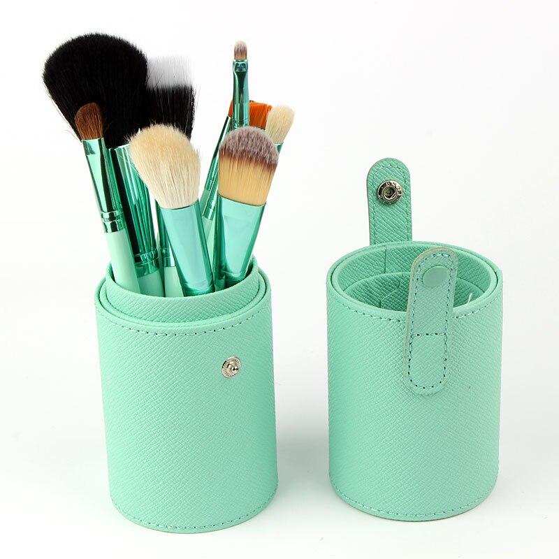 FOCALLURE Professional Makeup Brush Set 12Pcs Kit  Leather Cup Holder Case kit