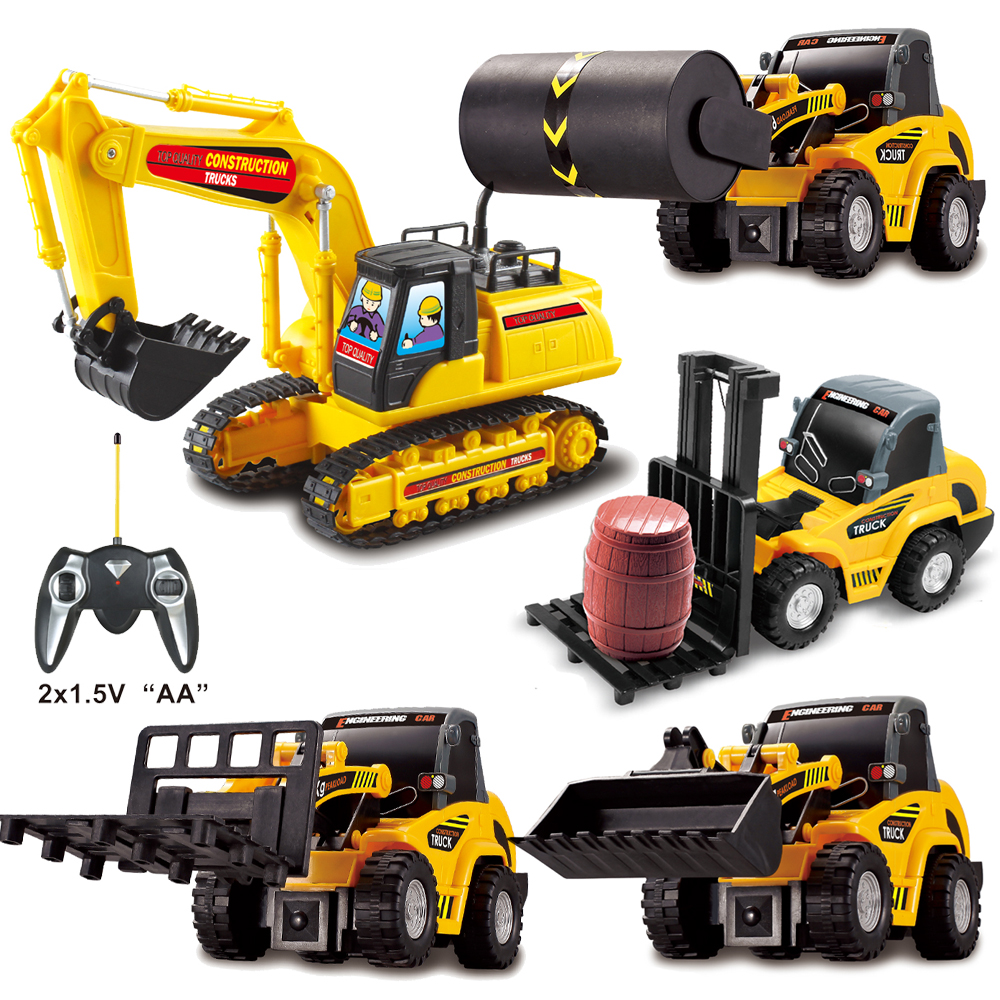2019 New RC Remote Control Mini Truck Car Toy Simulated Excavator Educational Toys For Children Kids Christmas