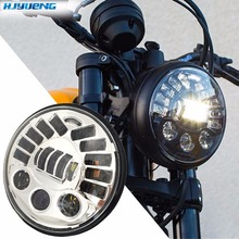 "80w 7""For BMW R NineT R9T Daytinme Running Light Led Headlight DRL for Harley Motorcycle Accessories turn signal parking light"