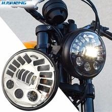 """80w 7 """"dla BMW R NineT R9T Daytinme światła Led reflektor DRL dla motocykl Harley akcesoria włącz sygnał światła parkingowe"""