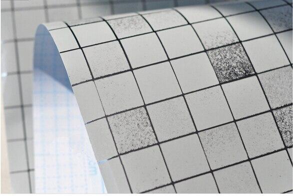 Badkamer Tegel Stickers : Pvc muur sticker badkamer waterdichte zelfklevende behang keuken