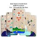 2016 Fina e Macia TPU Claro Slim Bonito Dos Desenhos Animados Astronauta UFO nave espacial Caso Para Apple iPhone 6 6 s 4.7 Telefone Silicone caso