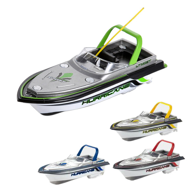NUEVA Radio Control Remoto RC Super Mini Boat Speed Dual Motor Kid Toy Color Al Azar
