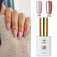 2 PIECES RS 139 239 Gel Nail Polish UV Nail Polish Nails Art Salon LED Soak