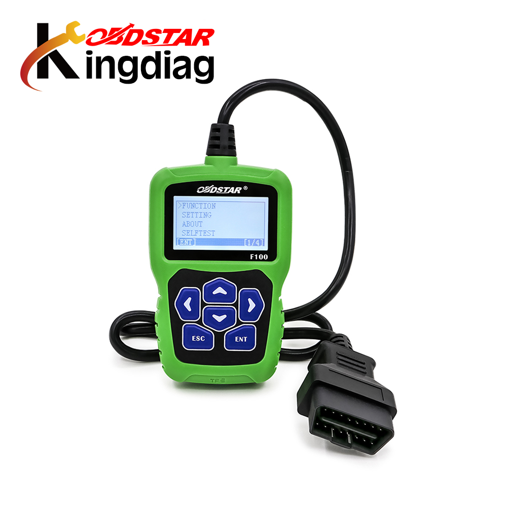 Original OBDSTAR F100 Auto Key Programmer No Need Pin Code Support New Models and Odometer OBDSTAR