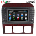 duble din Car DVD Player For Mercedes W220 W215 S280 S320 S350 S400 S500 S600 S Class Old Multimedia RADIO Bluetooth 3G Free map