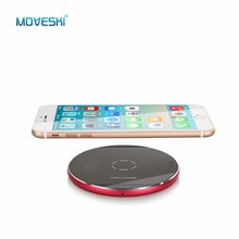 Moveski N9 Inductive Fast Wireless Charger Station Pad Qi Certified for iPhone 8 8 Plus iPhoneX Samsung Galaxy Note 8 -3 colors