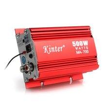 Auto Audio Verstärker MA-700 500W Auto Motorrad 2 Kanäle Audio AMP Verstärker USB MP3 FM Eingang für auto Motorrad Hause Audio