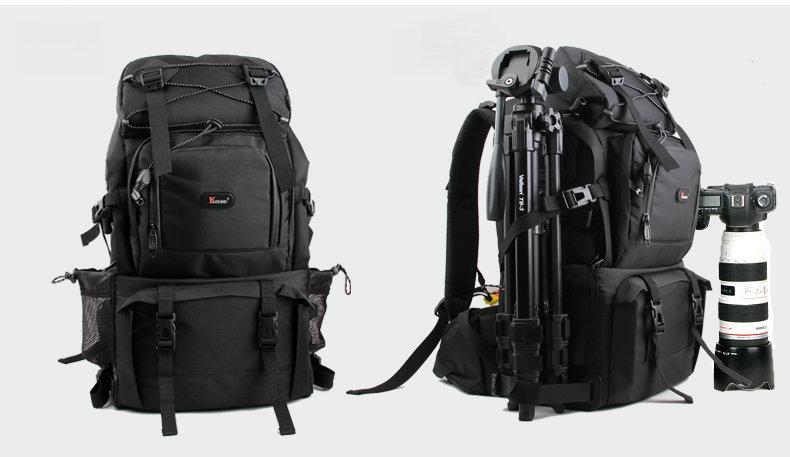 Professional Waterproof 40L Outdoor Bag Backpack DSLR SLR Camera Bag Case Black tonba camouflage slr dslr camera backpack with rain cover for outdoor