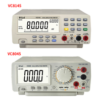 VC8145 VC8045 Bench top Multimeter 1000V 20A Digital Multimeter Auto Range Multimetro Digital Voltmeter Ohm DCV/ACV/DCA/ACA