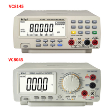 VC8145 VC8045 tezgah üstü Multimetre 1000V 20A Dijital Multimetre Otomatik Aralığı Multimetro Dijital Voltmetre Ohm ÇOKLU DCV/ACV/DCA /ACA